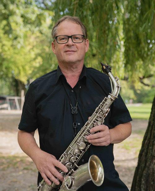 Rainer Theobald - Saxophonist Berlin