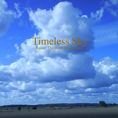 Timeless Sky CD Cover - Rainer Theobald